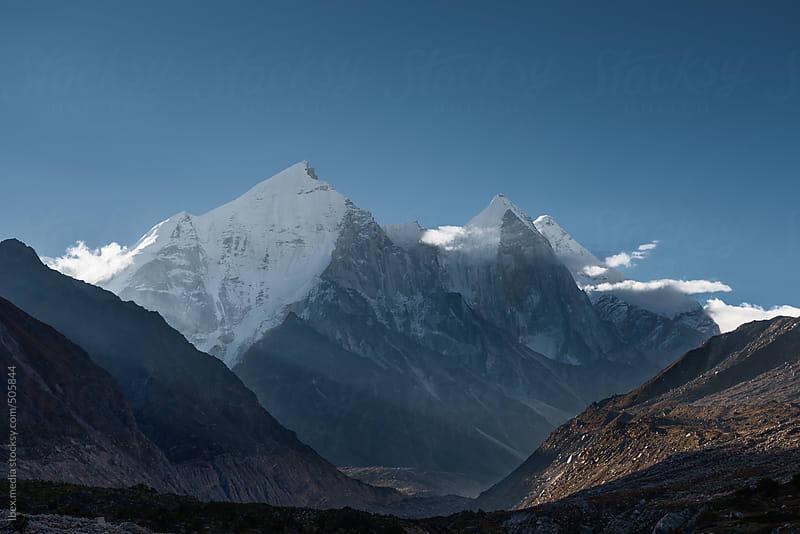 Bhagirathi peaks  by RG&B Images for Stocksy United