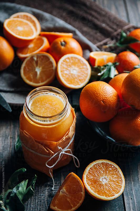 Fresh orange juice  by Nataša Mandić for Stocksy United