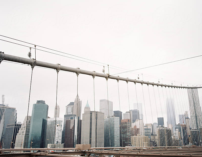 NYC Brooklyn Bridge by Vicki Grafton Photography for Stocksy United