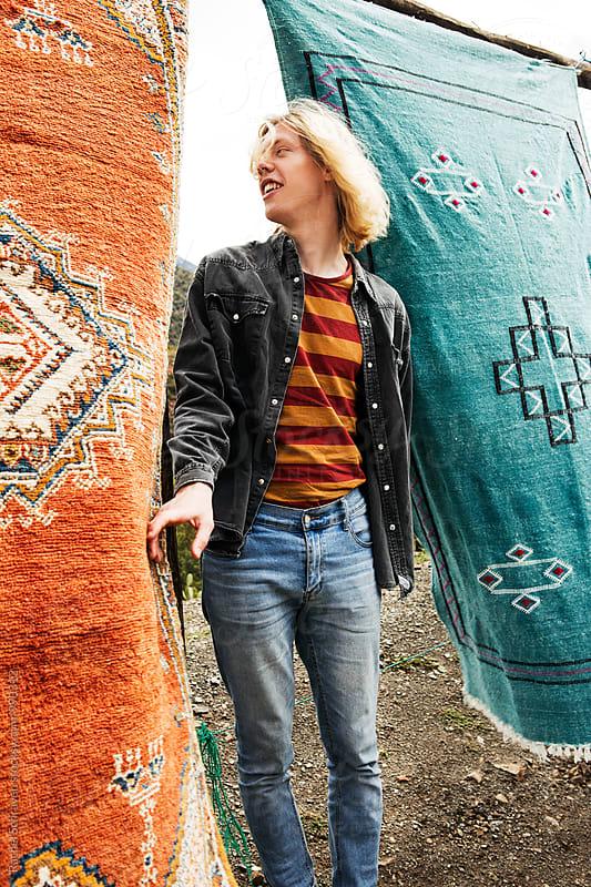 Carpet fun  by Rachel Schraven for Stocksy United