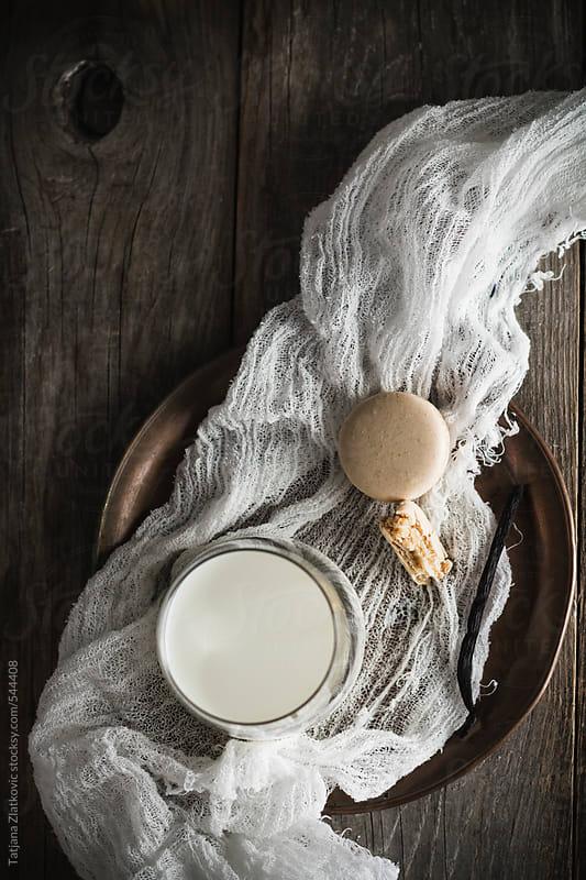 Milk and macaroon by Tatjana Zlatkovic for Stocksy United