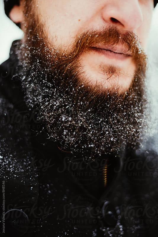 Winter portrait by Jovana Vukotic for Stocksy United