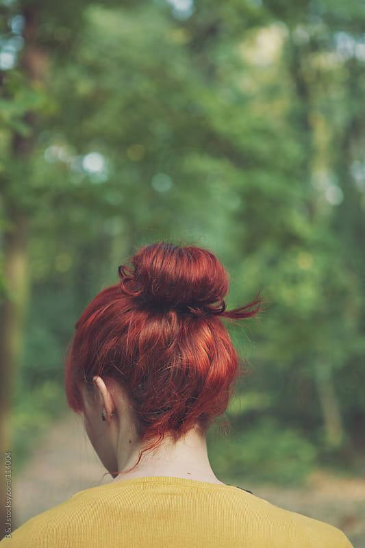 redhead by B & J for Stocksy United