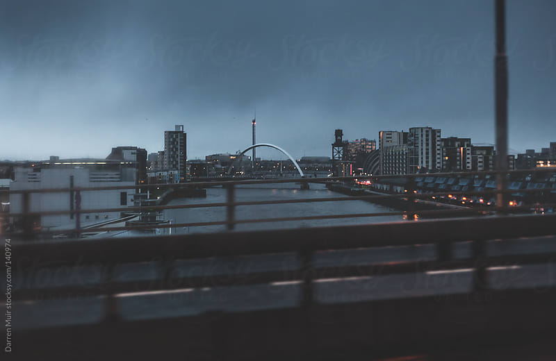 Glasgow,Scotland,The River Clyde by Darren Muir for Stocksy United