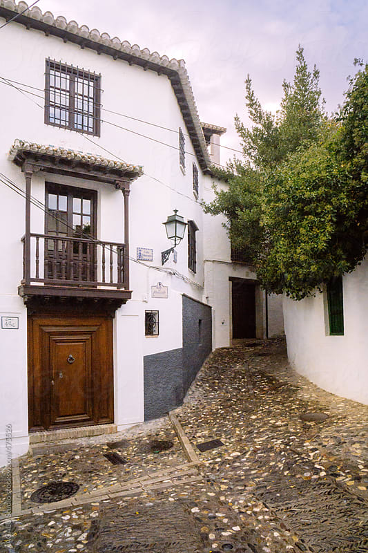 Typical street in Andalusia by ACALU Studio for Stocksy United