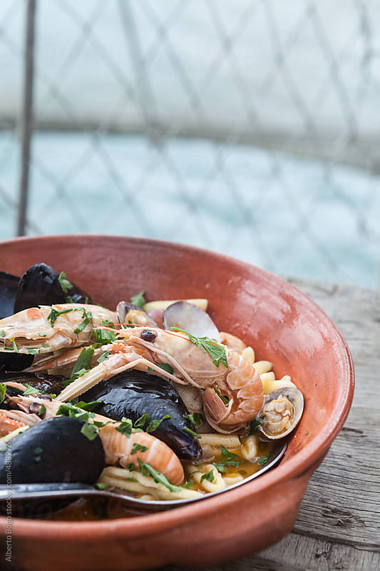 Seafood Soup by Alberto Bogo for Stocksy United