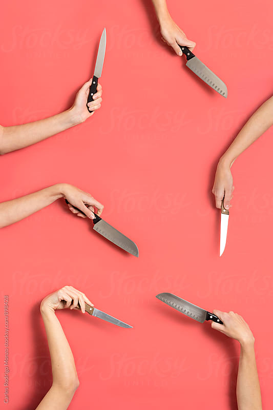 Knifes still life by Carles Rodrigo Monzo for Stocksy United