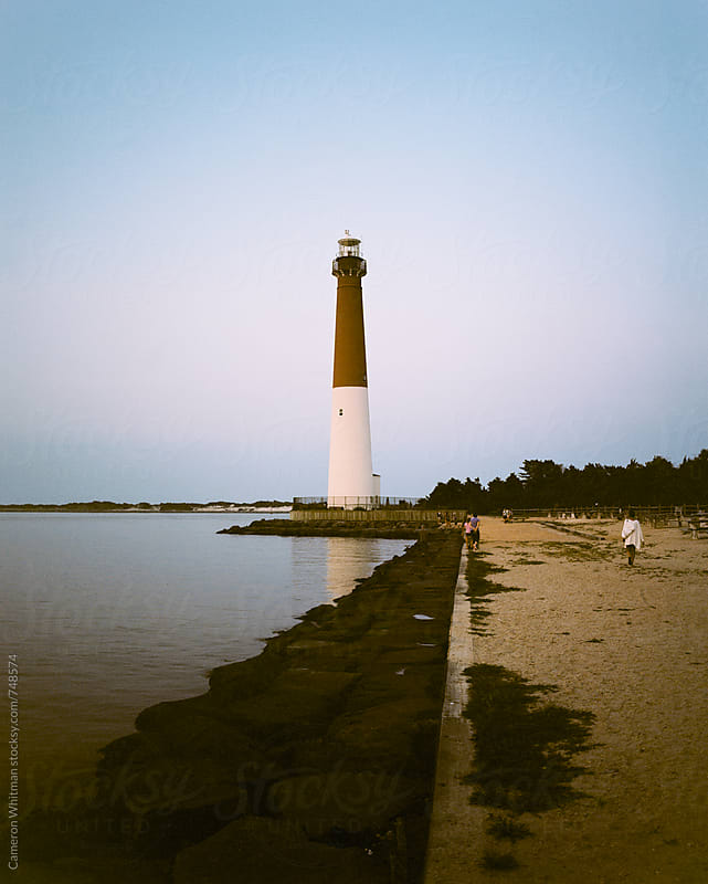 Barnaget Lighthouse by Cameron Whitman for Stocksy United