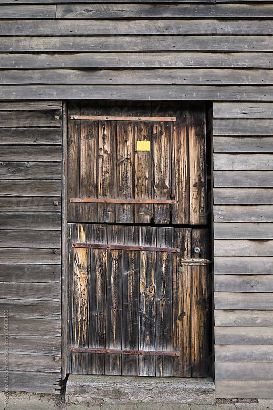 Rustic timber doorway by Rowena Naylor for Stocksy United