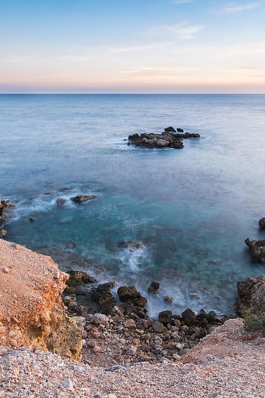 Mediterranean Coastline by Marilar Irastorza for Stocksy United
