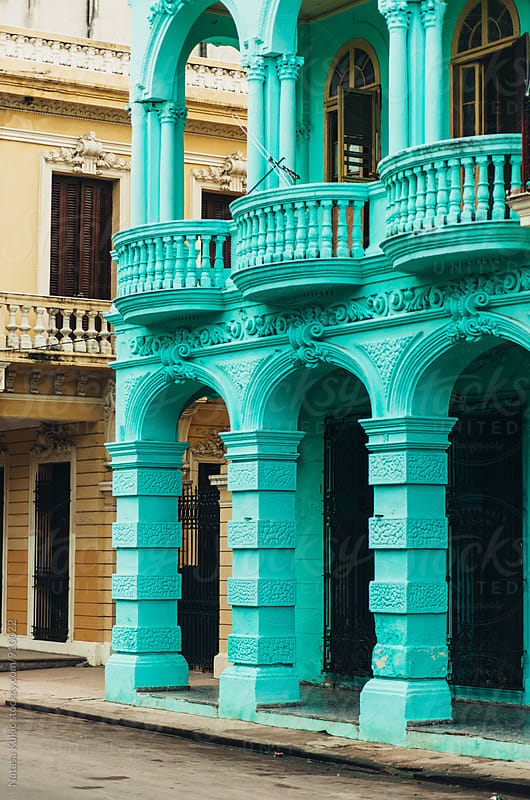 Details of architecture in Havana by Natasa Kukic for Stocksy United