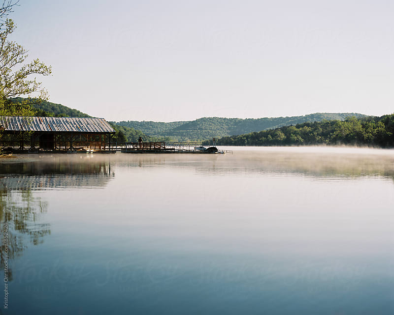 Lakeside in Arkansas by Kristopher Orr for Stocksy United