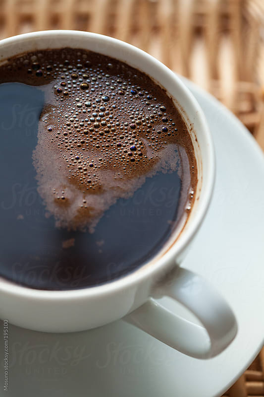Close Up of a Cup of Coffee by Mosuno for Stocksy United