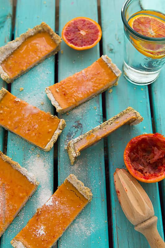 Blood Orange Tart by Aniko Lueff Takacs for Stocksy United