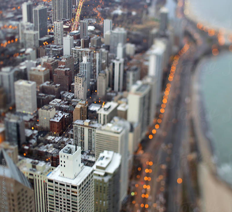 Evening Over Chicago by ALICIA BOCK for Stocksy United