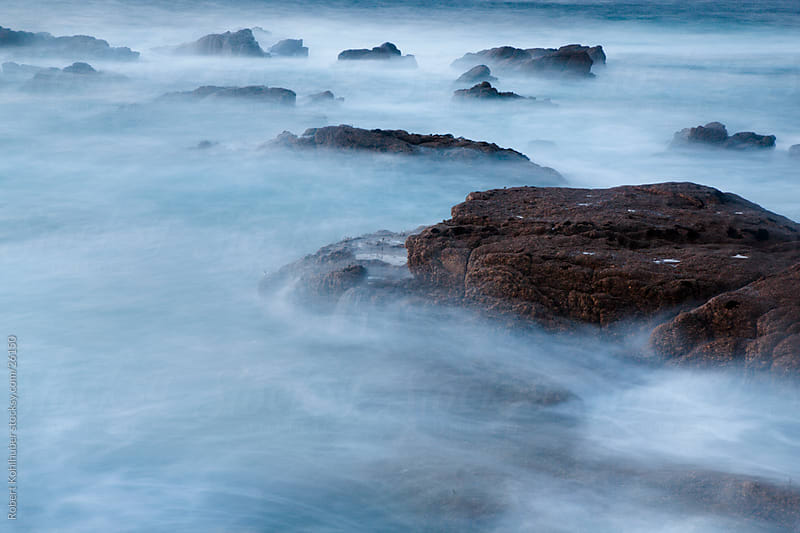 Rocks at coast in england by Robert Kohlhuber for Stocksy United