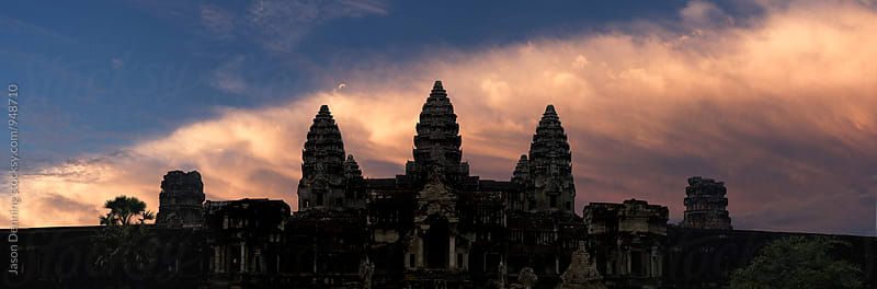 Angkor Wat Temple by Jason Denning for Stocksy United