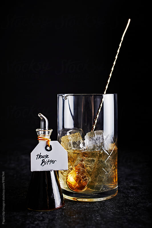 Manhattan Cocktail by Paperclip Images for Stocksy United