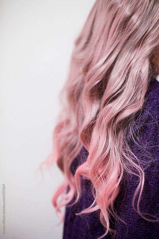Long pastel hair by Jovana Rikalo for Stocksy United