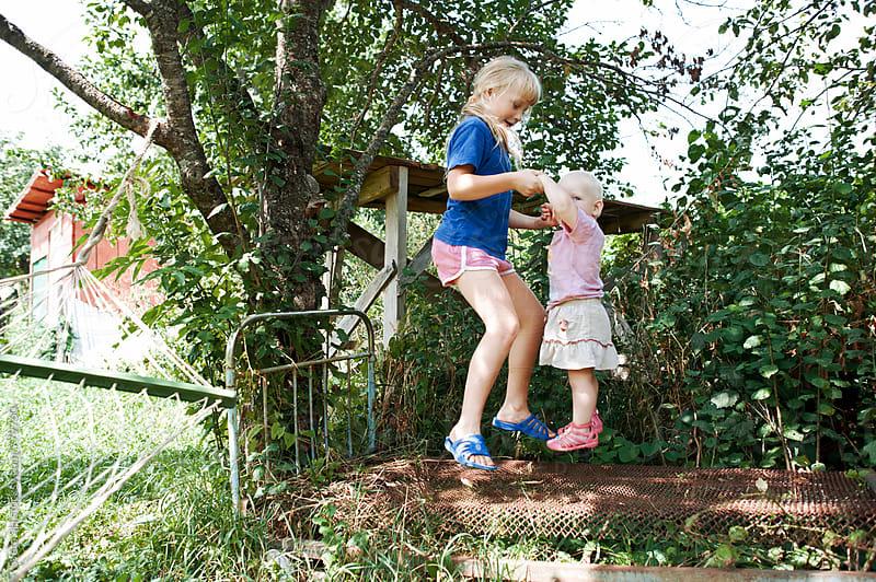 Two girls - sisters by Sveta SH for Stocksy United