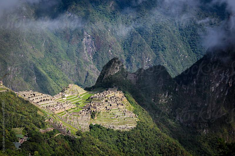 Machu Picchu City by Lucas Brentano for Stocksy United