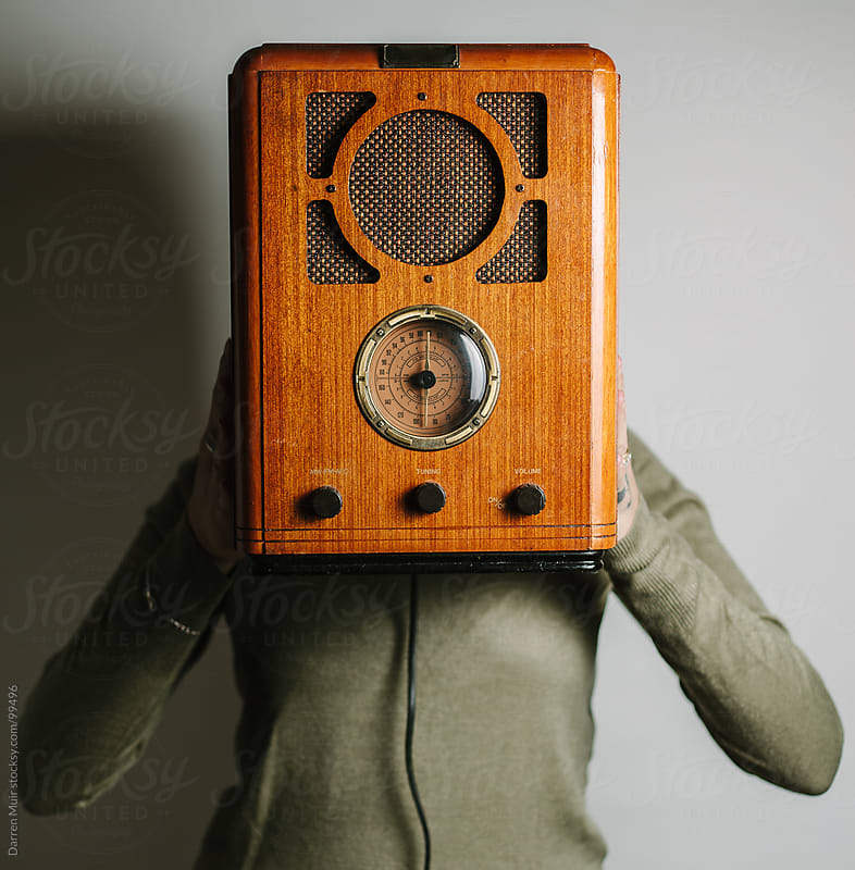 Retro Radio  by Darren Muir for Stocksy United