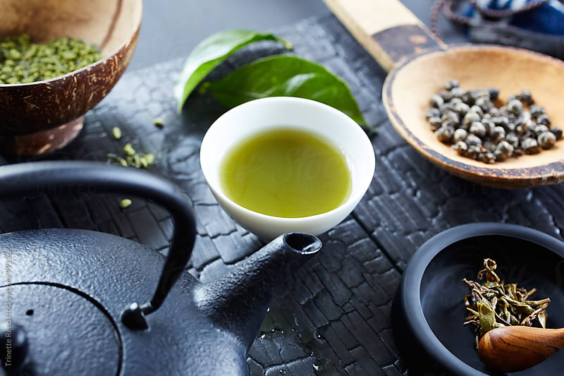 Japanese Green Tea by Trinette Reed for Stocksy United