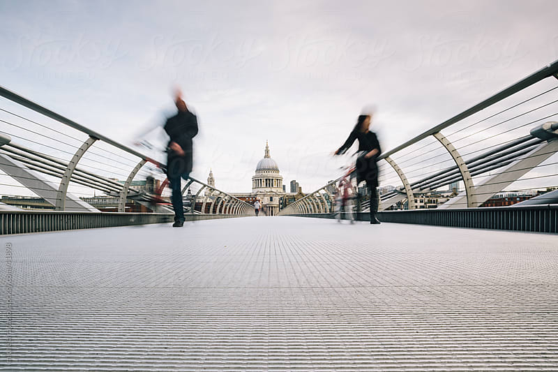 Millennium Bridge by michela ravasio for Stocksy United