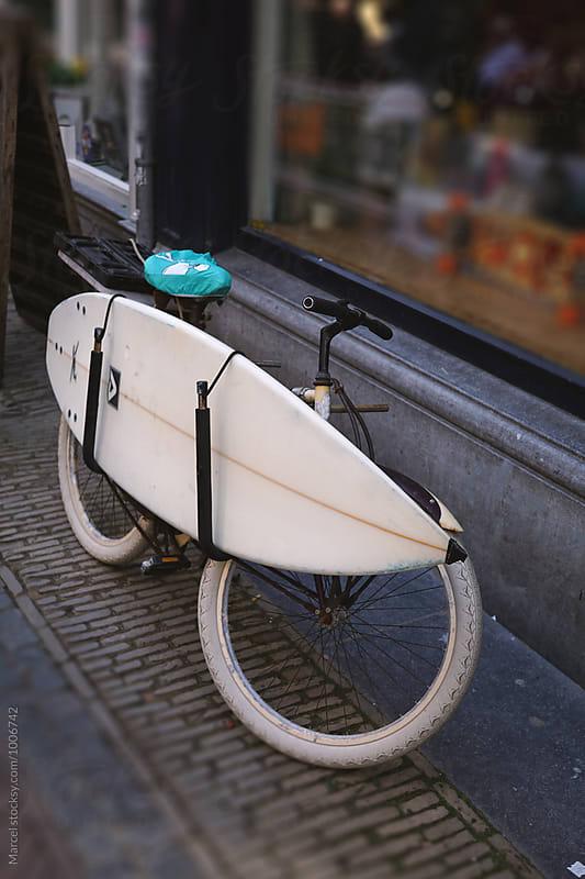 Bike & board by Marcel for Stocksy United