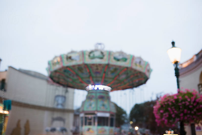Carrousel out of focus by Jovana Rikalo for Stocksy United