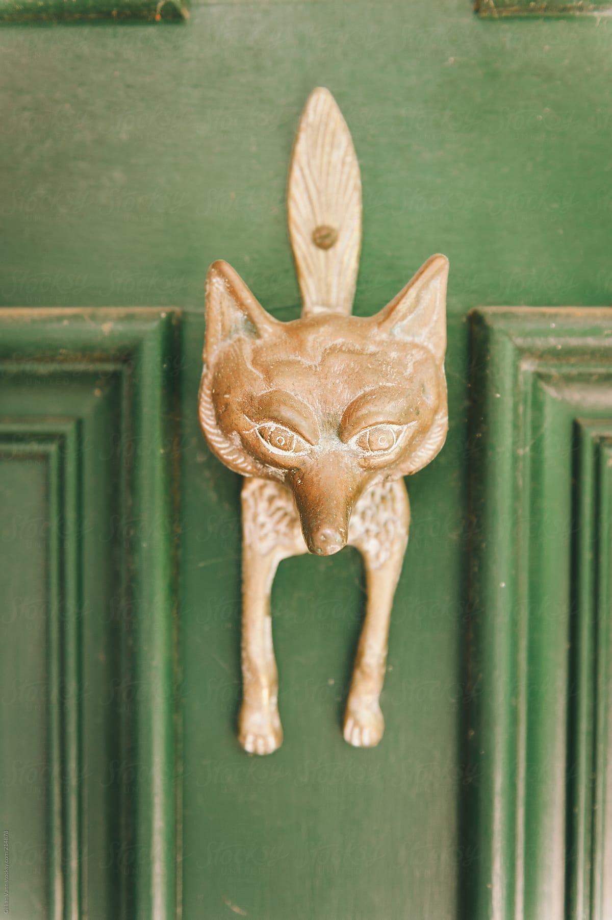 Fox Door Knocker By Gillian Vann For Stocksy United