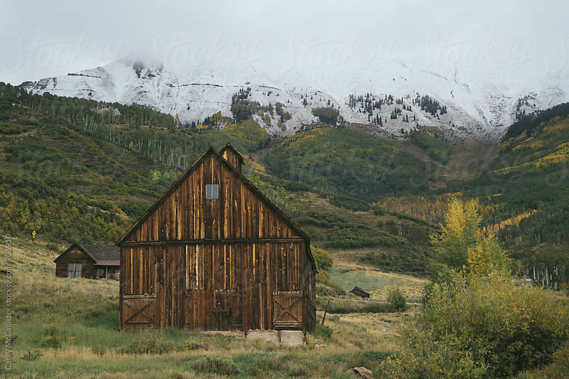 Colorado Barn by Casey McCallister for Stocksy United