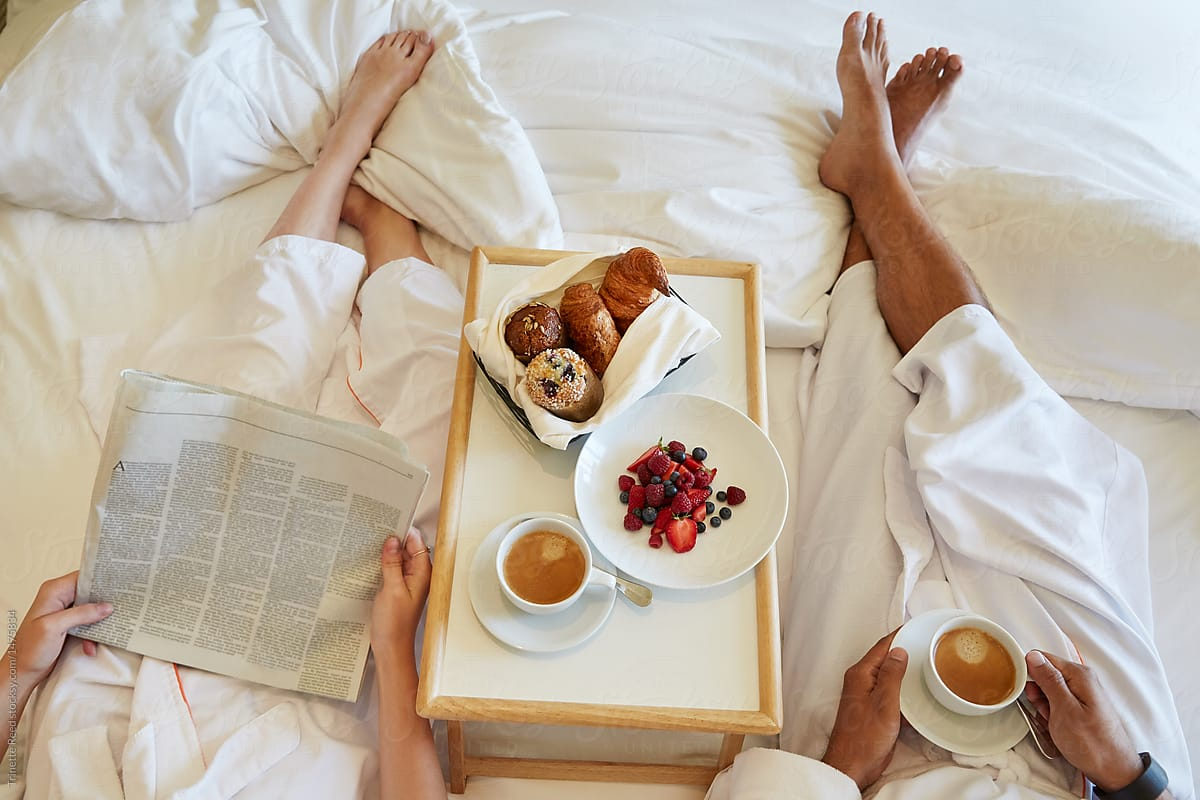 Breakfast in the bed