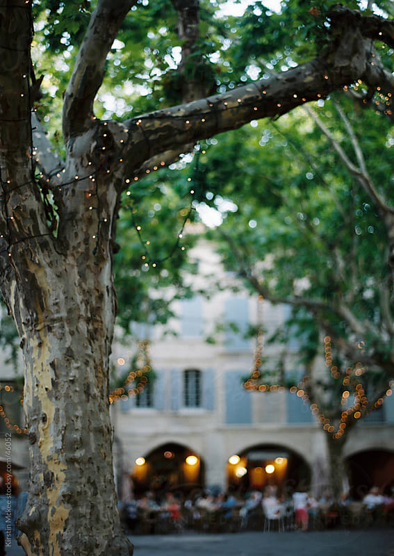 An evening in a village in Provence. France by Kirstin Mckee for Stocksy United