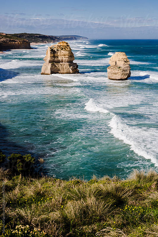 The Twelve Apostles & Great Ocean Road, Australia by Mauro Grigollo for Stocksy United