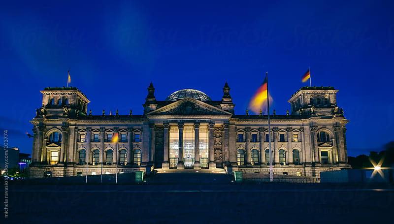 Reichstag (Parliament) in Berlin by michela ravasio for Stocksy United