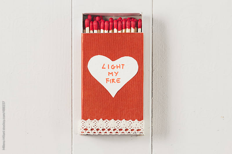 Box of matches by Milena Milani for Stocksy United