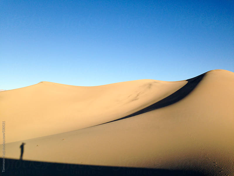 Death Valley Sand Dune by Tommaso Tuzj for Stocksy United
