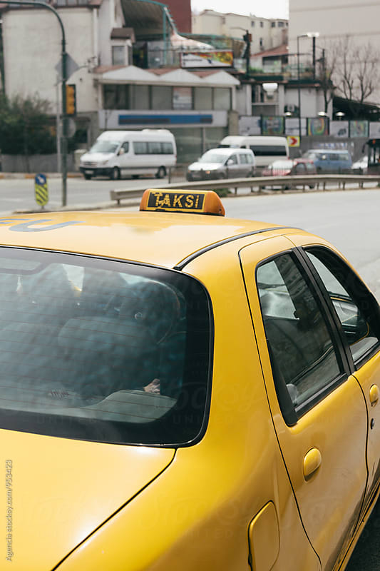 Istanbul Taxi by Agencia for Stocksy United