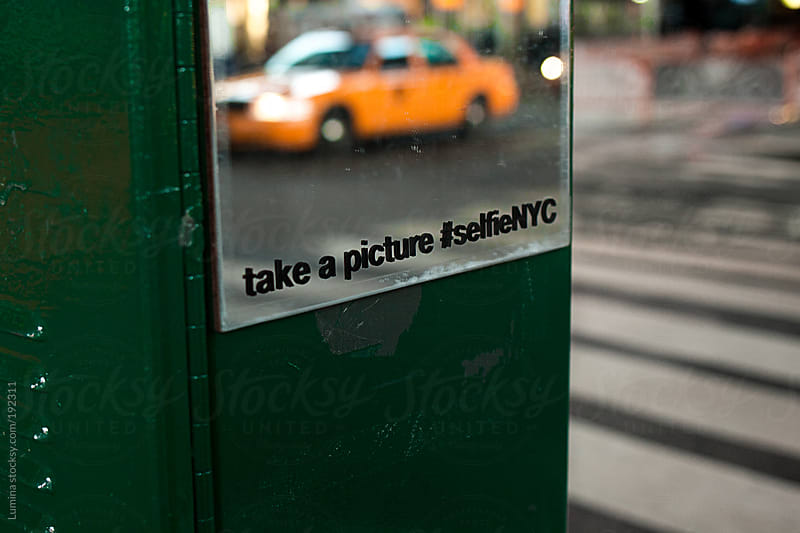 Take a Selfie in New York by Lumina for Stocksy United