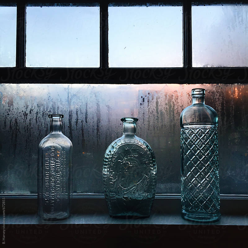 Vintage Liquor Bottles by B. Harvey for Stocksy United