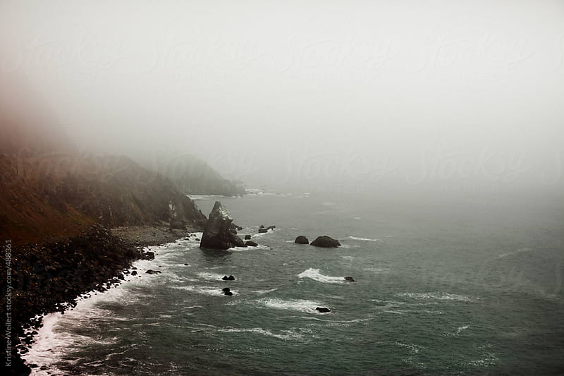 Misty Coastal View by Kristine Weilert for Stocksy United