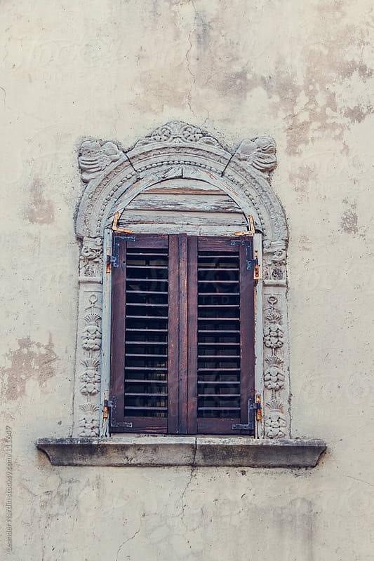 old window by Leander Nardin for Stocksy United