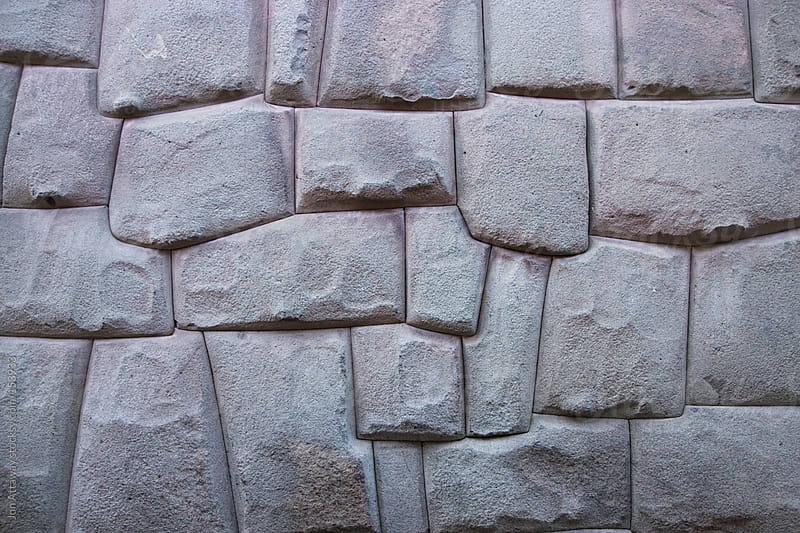Incan stonework in Cusco, Peru by Jon Attaway for Stocksy United