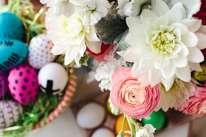 Easter blooms by Kristen Curette Hines for Stocksy United