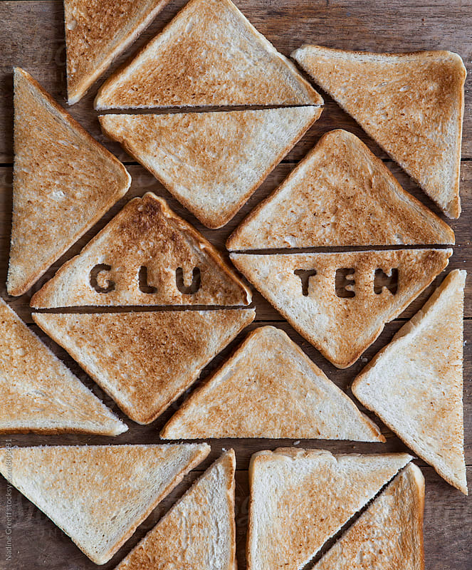 Toasted gluten bread by Nadine Greeff for Stocksy United