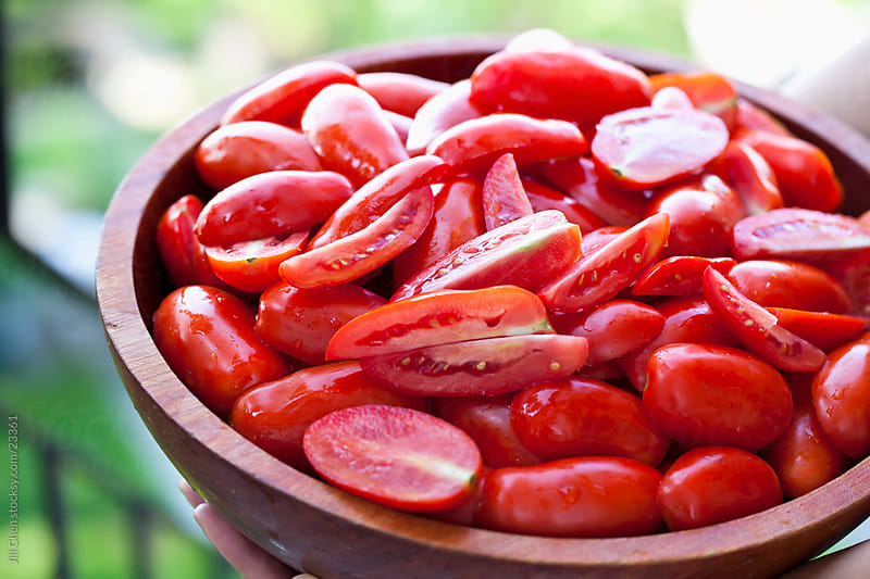 Ripe Tomatoes by Jill Chen for Stocksy United
