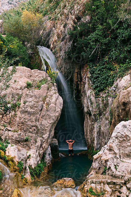 Algar Waterfalls by Preappy for Stocksy United
