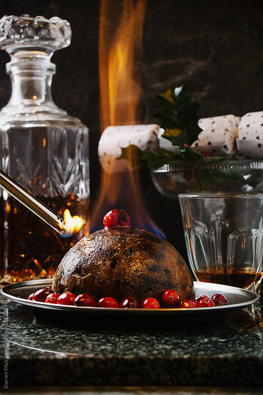 Christmas pudding.  by Darren Muir for Stocksy United
