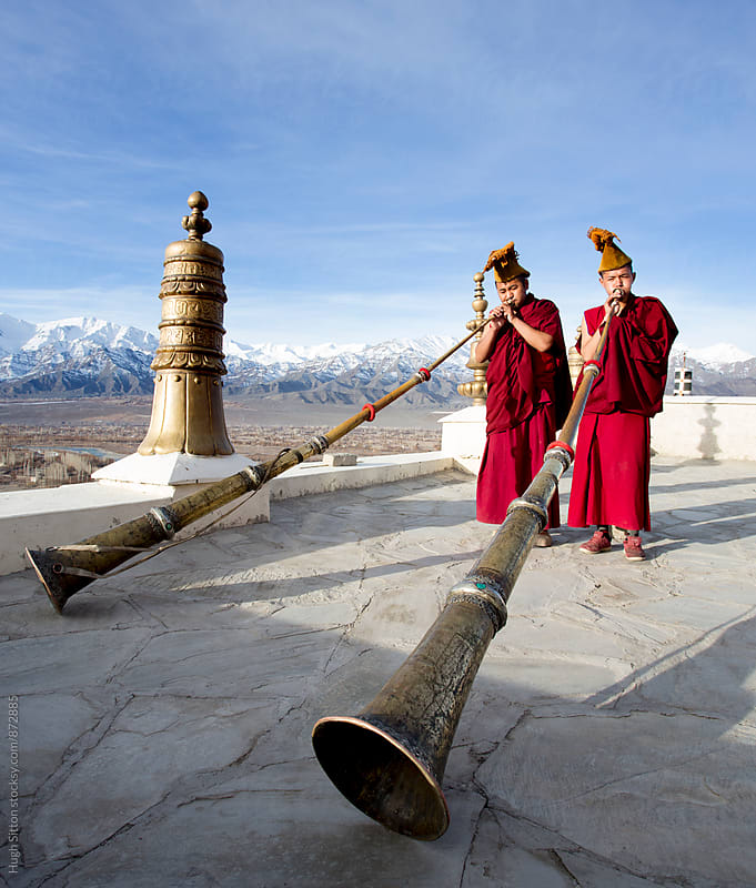 Buddhism in Ladakh. India. by Hugh Sitton for Stocksy United